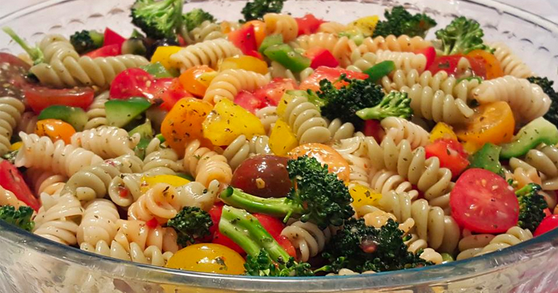 OLD-FASHIONED PASTA SALAD