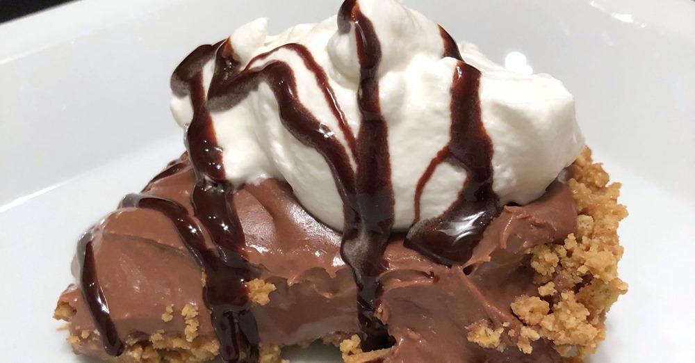Easy Chocolate Cheesecake Peanut Butter Pie