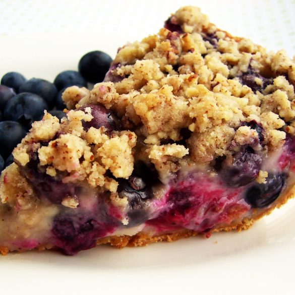 Blueberry Cream Pie